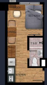 vist recto condo 1 bunk bed