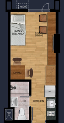 vista plumeria manila 1 bunk bed