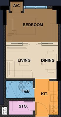 wil tower quezon city condo 1 bedroom unit