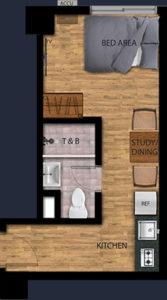 vista recto manila condo 1 bunk bed