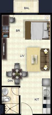 costa vista resort condo studio suite unit