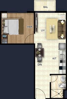 costa vista boracay resort condo 1 bedroom suite uniy